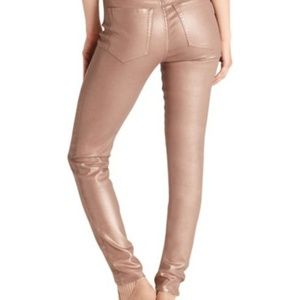 NWT Anthropologie Ella Moss Rose Gold Jeans